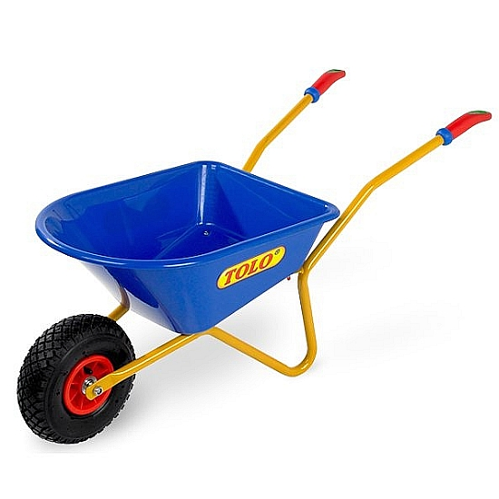 Kids wheelbarrows start them young the garden tool shed for Aldi gardening tools 2015
