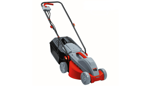 Ryno 30cm electric lawnmower at the range the garden for Aldi gardening tools 2015