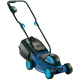 The Einhell BG-EM 1030 30cm electric lawnmower