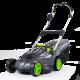 Gtech Falcon 43cm cordless lawnmower